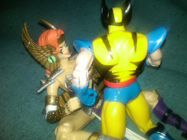 DC vs Marvel Orgy (5/6)