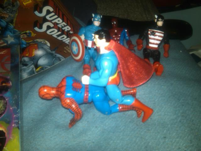 DC vs Marvel Orgy (4/6)
