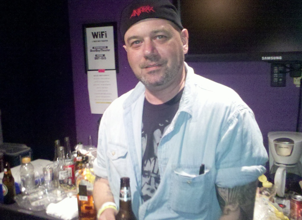 Anthrax 30th Anniversary Party - Backstage (2/6)
