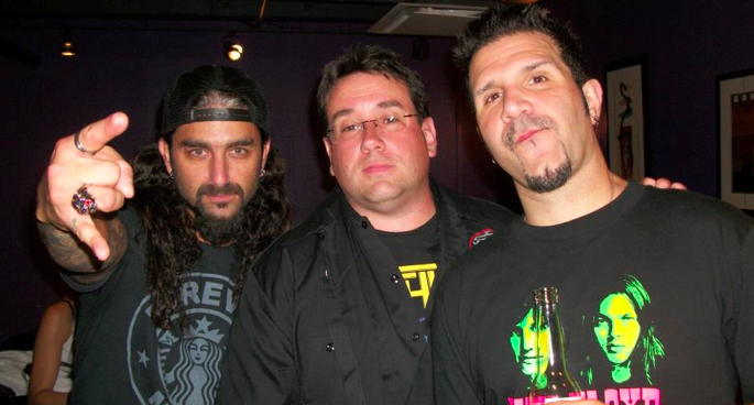 Anthrax 30th Anniversary Party - Backstage (5/6)