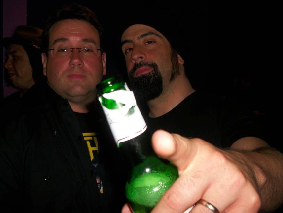 Anthrax 30th Anniversary Party - Backstage (4/6)