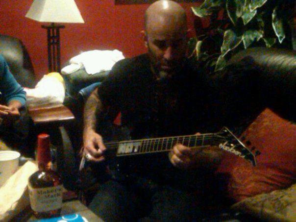 Among The Living Guitar